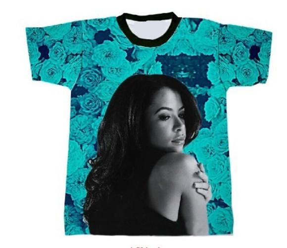 swag aaliyah shirt aaliyah aaliyah crewneck 90s hip hop
