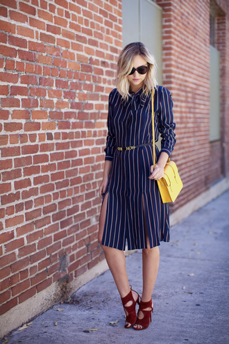 late afternoon blogger dress sunglasses bag shoes jewels