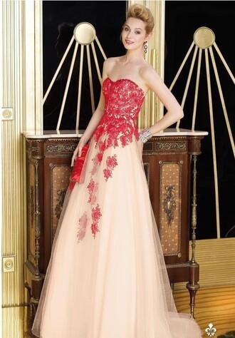 prom dress clothes appliqued dress