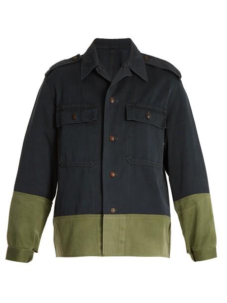 MYAR jacket cotton navy