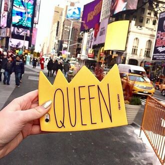 phone cover yeah bunny queen crown iphone case