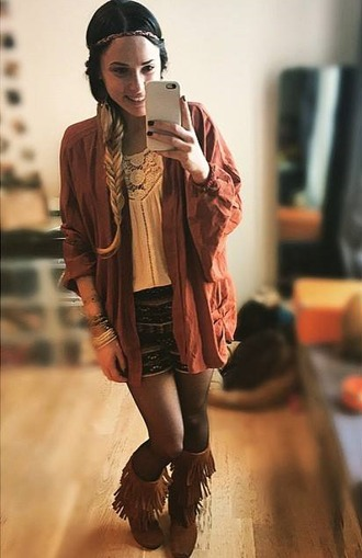 jacket boho instagram native american