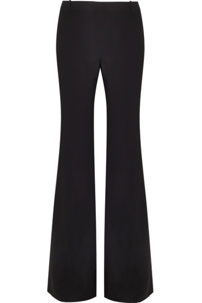Chloe pants wide-leg pants black