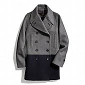 Coach :: WOOL AND SCUBA FITTED CAR COAT