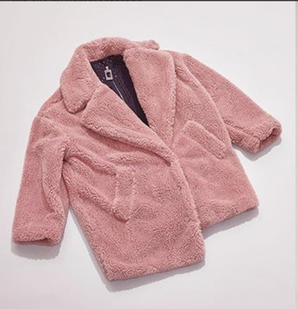 coat pink coat jacket winter jacket