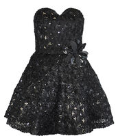 dress,ladies,sexy,net,sequins,flowers,bodycon,evening dress,cute,short party dresses,prom dress,little black dress,sweetheart neckline
