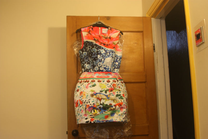 Balloon dress by mary katrantzou for topshop size medium