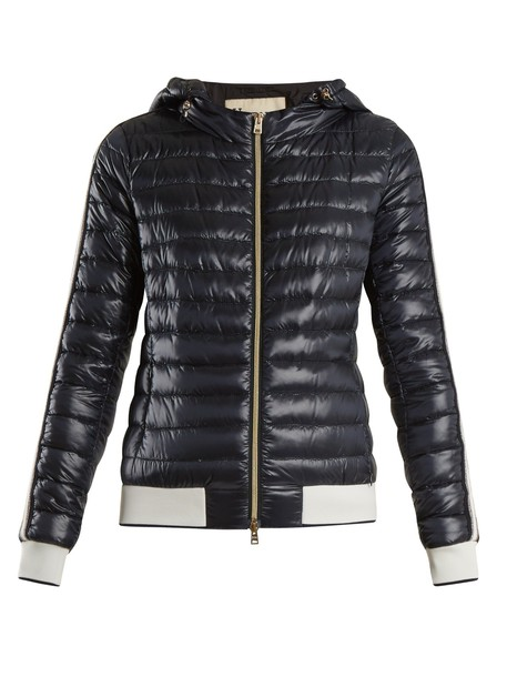 Herno jacket quilted navy