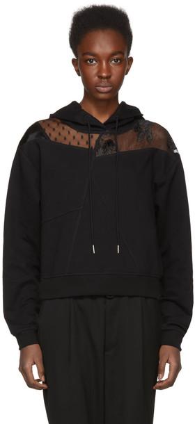 McQ Alexander McQueen hoodie black sweater