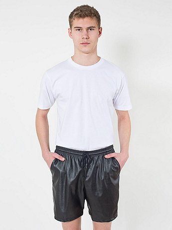 Vegan Leather Kool Short | American Apparel