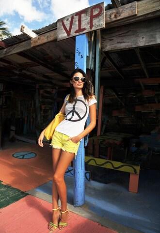 zukiniz blogger shorts top bag shoes sunglasses jewels