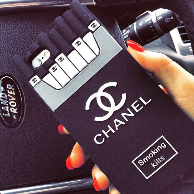 Chanel Smoking Kills Case THIS STYLE AVAILABLE FOR IPHONE 4/4s 5/5S/5C ...
