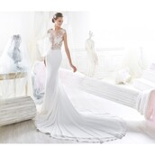 dress,appliques,elegant,wedding dress