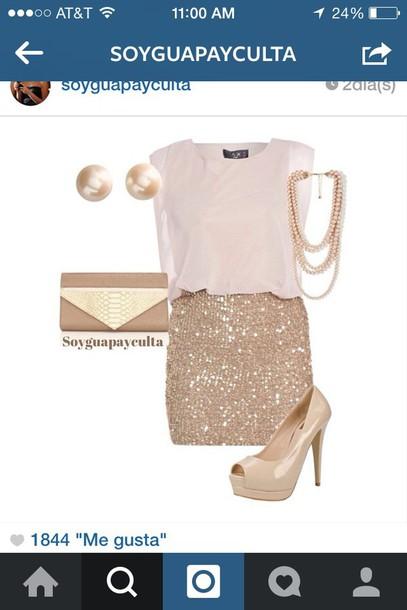 blouse beige