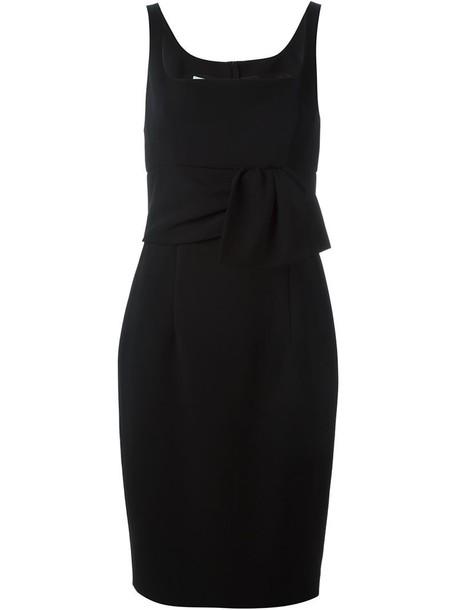 Moschino dress ruffle women black