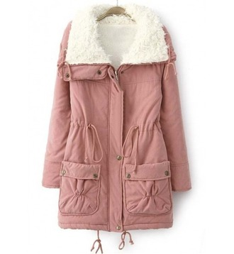 coat girl girly girly wishlist pink pink coat fur fur coat