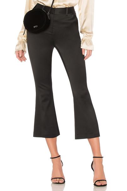 FRAME flare black pants