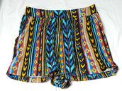 aztec,shorts