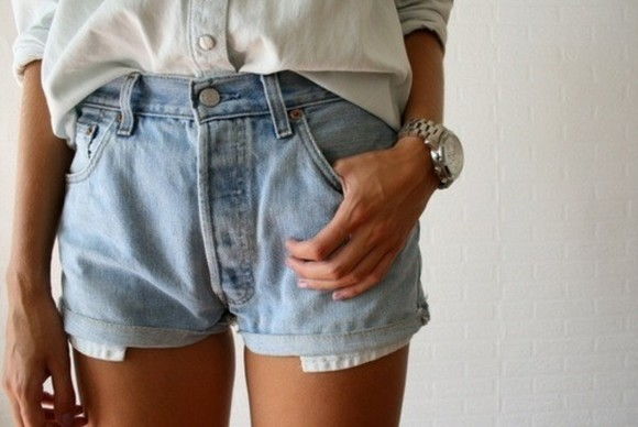 short hippie fashion gypsy shorts