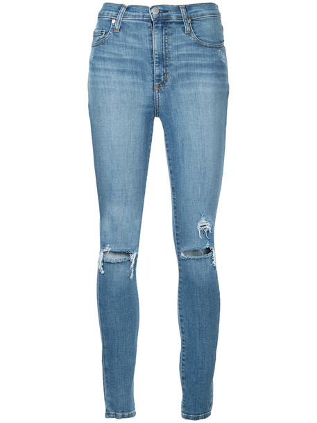 jeans women spandex cotton blue 24