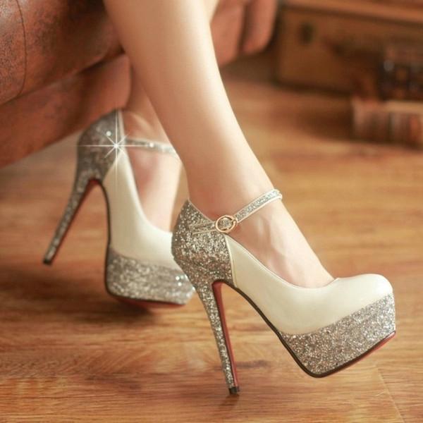 Fashion flash high heels
