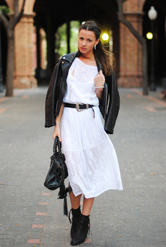 dress jacket shoes bag jewels fashion vibe belt