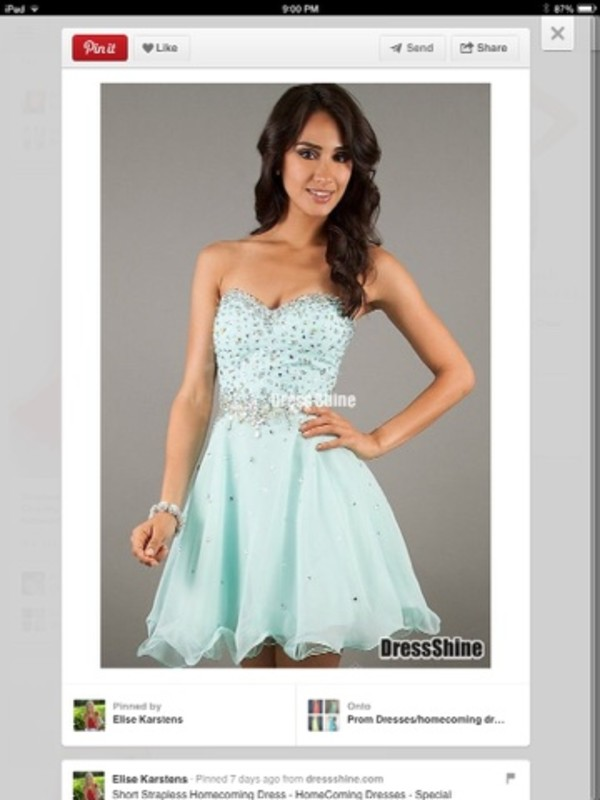dress found on pintrest homecoming dress