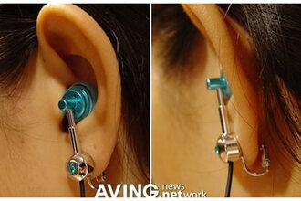 earphones ear plug earrings ear piercings music