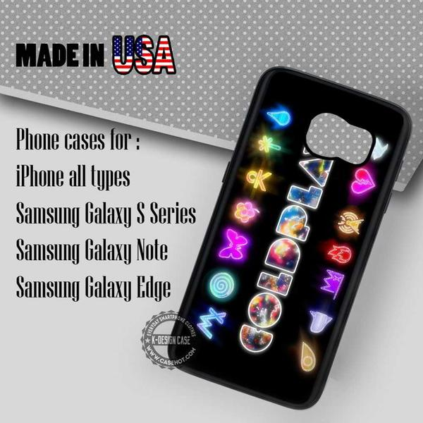 Samsung S7 Case - Glowing Coldplay- iPhone Case #SamsungS7Case #cdp #yn