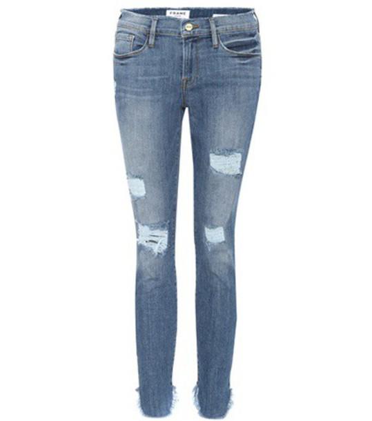 Frame Le Skinny De Jeanne jeans in blue