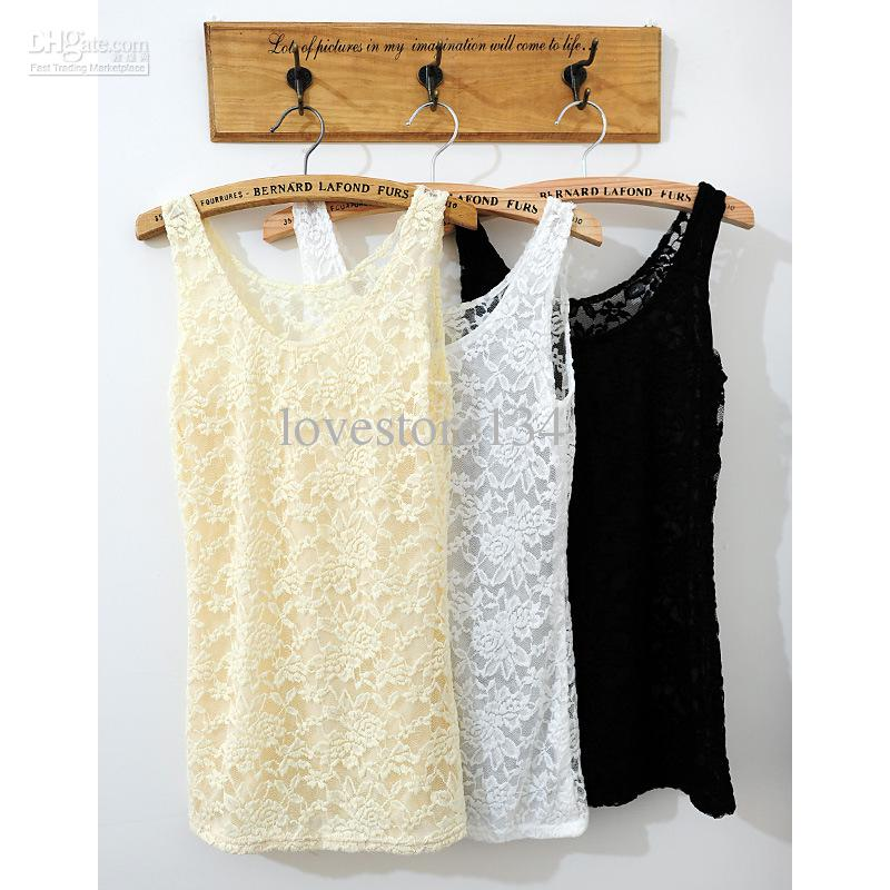 Buy fashion tank tops sexy tank top lace women tops tanks sexy ladies tanks tops lace tank tops, $7.54