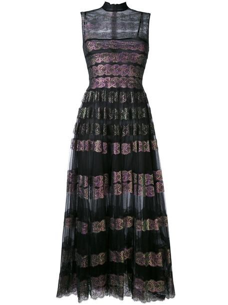 CHRISTOPHER KANE dress tulle dress long women lace black