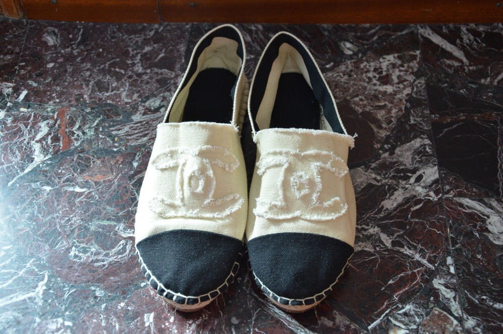 Espadrilles donna CHANEL nuove flats