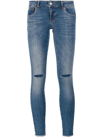 jeans skinny jeans ripped skinny jeans women spandex ripped cotton blue