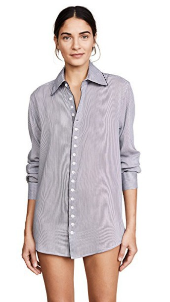 Kiki de Montparnasse shirt new boyfriend top