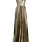 Norina silk-blend lamé pleated gown | maria lucia hohan | matchesfashion.com us