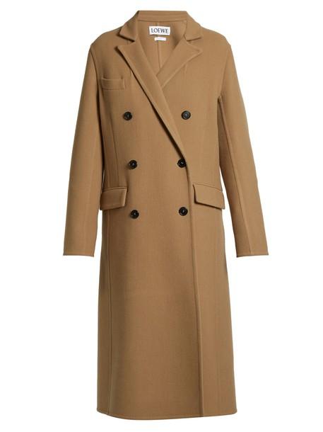 LOEWE coat camel