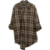 brown,grunge,flannel shirt,flannel,90s style,90s grunge,plaid