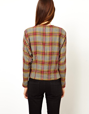ASOS | ASOS Shell Top in Plaid  Check at ASOS