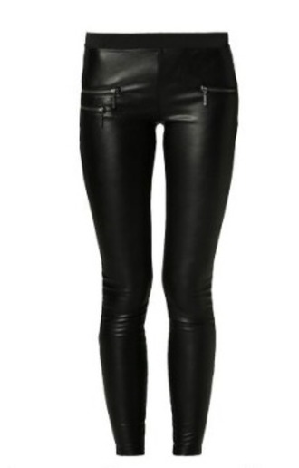 pants leather pants black pants swag grunge vintage blogger urban indie hipster