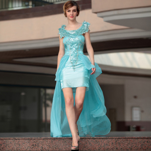 Light blue prom dresses 2015