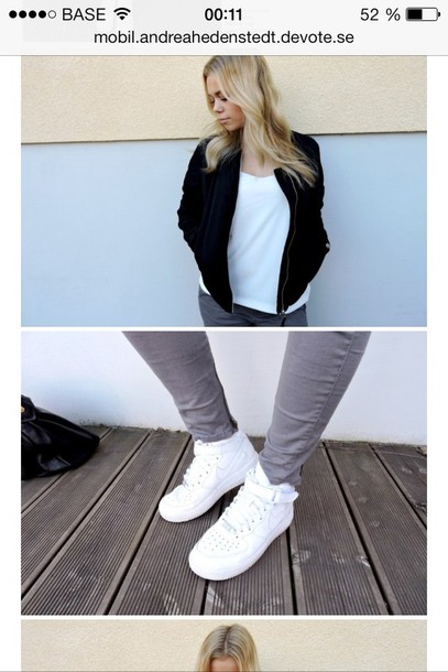 jacket vintage black white shoes nike girl blond blazer baseball navy fashion 90s style