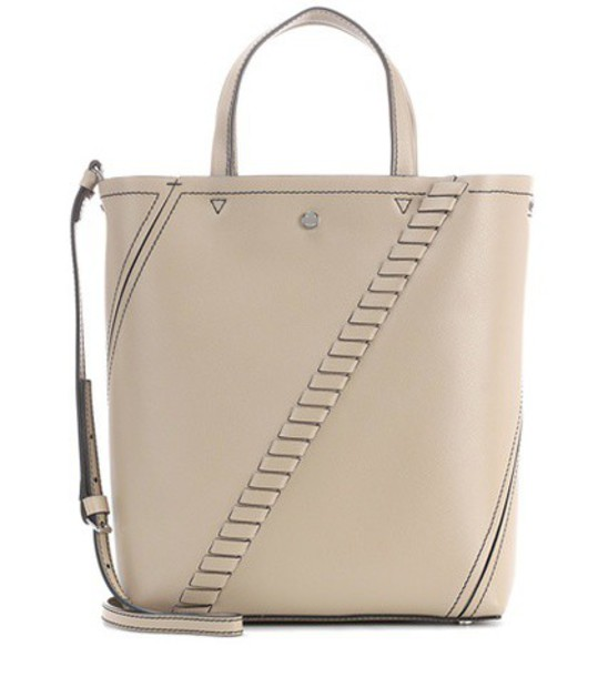 Proenza Schouler mini leather grey bag