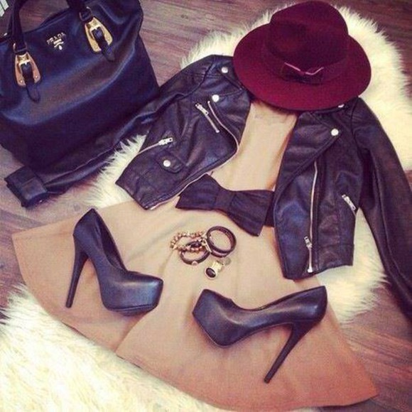 christian louboutin bag jacket leather jacket Choies heels dress jullnard accessories brand