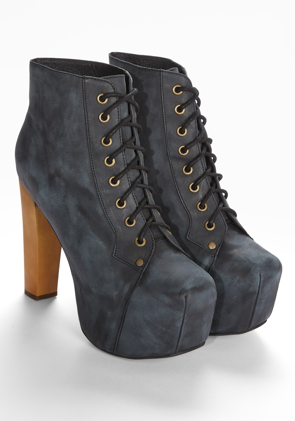 JEFFREY CAMPBELL Lita Distressed Leather Jeffrey Campbell | frontlineshop.com