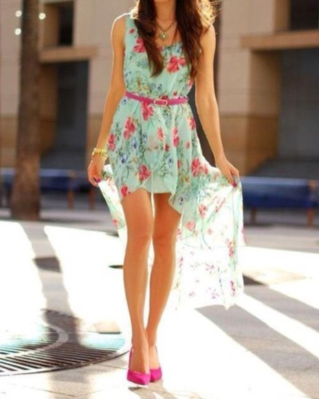 dress maxi long maxi dress summer floral dress floral short legs casual
