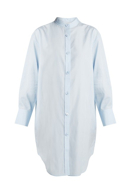 Acne Studios shirtdress cotton light blue light blue dress