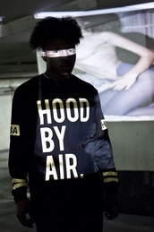 sweater,hood by air,hoodbyair,vest,menswear,zip,blvck