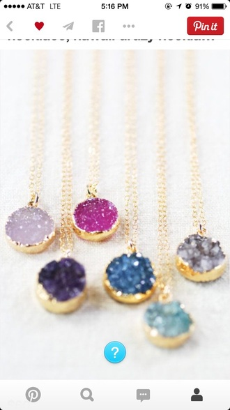jewels glitter necklace