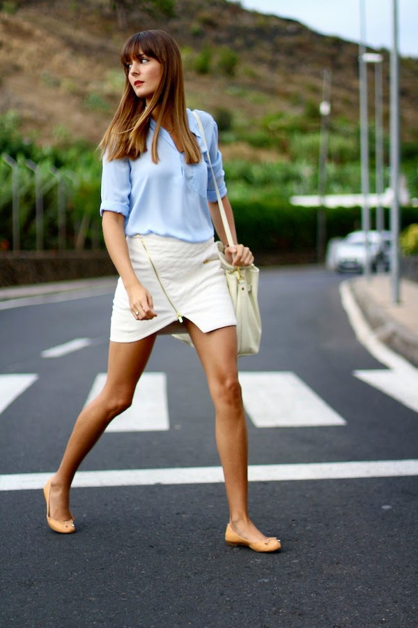 marilyn's closet blog blogger bag blouse jewels t-shirt daniel wellington skirt